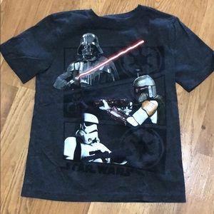 Gap Kids Star Wars Shirt, size 8